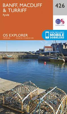 Banff, Macduff and Turriff - OS Explorer Active Map 426 (Sheet map, folded)
