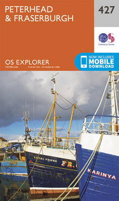 Peterhead and Fraserburgh - OS Explorer Active Map 427 (Sheet map, folded)