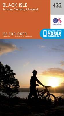 Black Isle - OS Explorer Active Map 432 (Sheet map, folded)