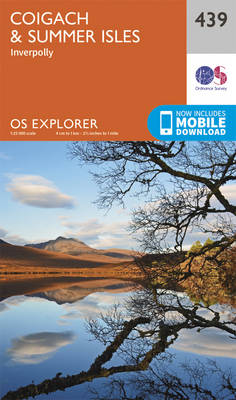 Coigach and Summer Isles - OS Explorer Active Map 439 (Sheet map, folded)