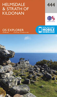 Helmsdale and Strath of Kildonan - OS Explorer Active Map 444 (Sheet map, folded)