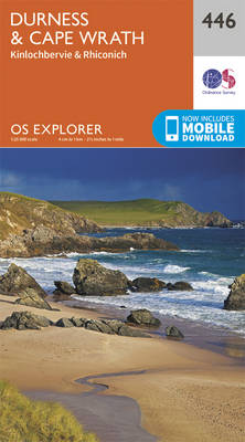 Durness and Cape Wrath - OS Explorer Active Map 446 (Sheet map, folded)