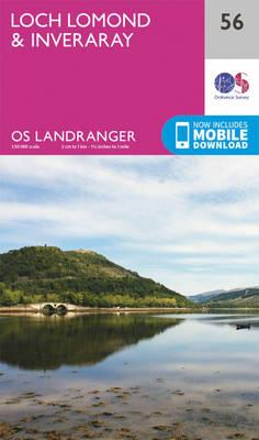 Loch Lomond & Inveraray - OS Landranger Map 056 (Sheet map, folded)