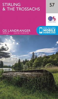 Stirling & the Trossachs - OS Landranger Map 057 (Sheet map, folded)