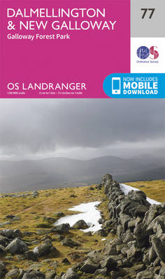 Dalmellington & New Galloway, Galloway Forest Park - OS Landranger Map 077 (Sheet map, folded)