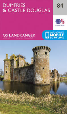 Dumfries & Castle Douglas - OS Landranger Map 084 (Sheet map, folded)
