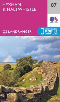 Hexham & Haltwhistle - OS Landranger Map 087 (Sheet map, folded)