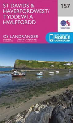 St Davids & Haverfordwest - OS Landranger Map 157 (Sheet map, folded)