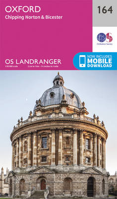 Oxford, Chipping Norton & Bicester - OS Landranger Map 164 (Sheet map, folded)