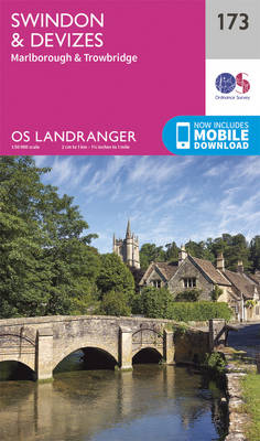 Swindon, Devizes, Marlborough & Trowbridge - OS Landranger Map 173 (Sheet map, folded)