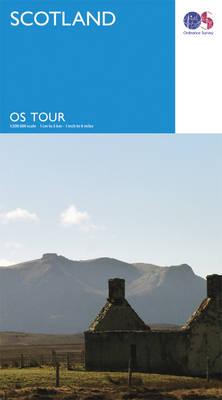 Scotland - OS Tour Map (Sheet map, folded)
