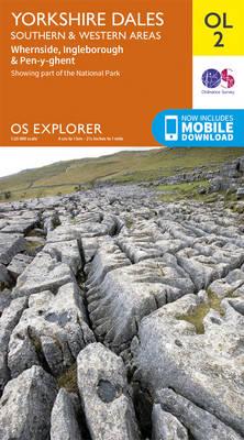 Yorkshire Dales South & Western - OS Explorer Map OL02 (Sheet map, folded)