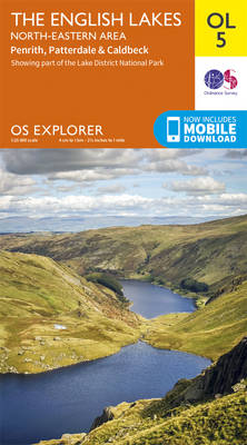 Lakes NE - OS Explorer Map OL05 (Sheet map, folded)