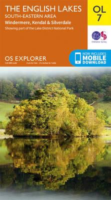 Lakes SE - OS Explorer Map OL07 (Sheet map, folded)