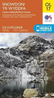 Snowdon - OS Explorer OL17 (Sheet map, folded)