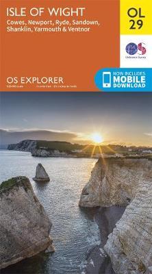 Isle of Wight - OS Explorer OL29 (Sheet map, folded)