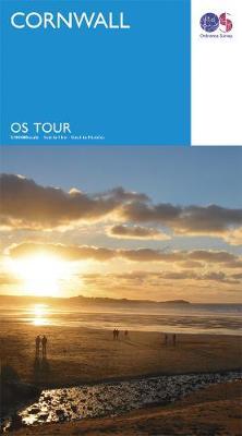 Cornwall - OS Tour Map (Sheet map, folded)