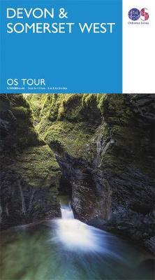 Devon & Somerset West - OS Tour Map (Sheet map, folded)