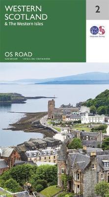 Western Scotland & the Western Isles - OS Road Map 2 (Sheet map, folded)