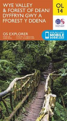 Wye Valley & Forest of Dean - OS Explorer Map OL 14 (Sheet map, folded)