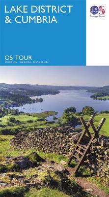 Lake District & Cumbria - OS Tour Map (Sheet map, folded)