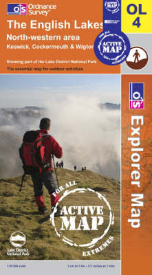 The English Lakes - North Western Area - OS Explorer Map Active Sheet OL04 (Sheet map, folded)