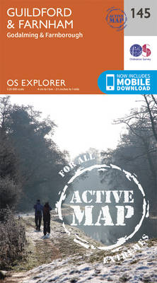 Guildford and Farnham - OS Explorer Map 145 (Sheet map, folded)