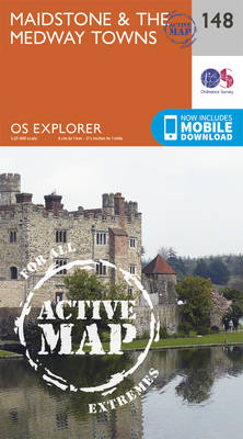 Maidstone and the Medway Towns - OS Explorer Map 148 (Sheet map, folded)