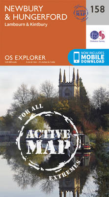 Newbury and Hungerford - OS Explorer Map 158 (Sheet map, folded)