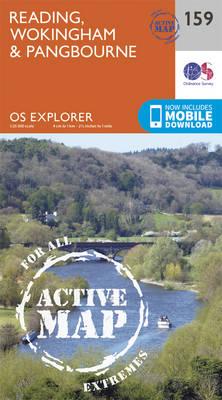 Reading, Wokingham and Pangbourne - OS Explorer Map 159 (Sheet map, folded)