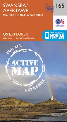 Swansea, Neath and Port Talbot - OS Explorer Map 165 (Sheet map, folded)