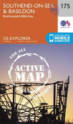 Southend-On-Sea & Basildon - OS Explorer Map 175 (Sheet map, folded)