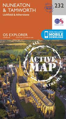 Nuneaton and Tamworth - OS Explorer Map 232 (Sheet map, folded)