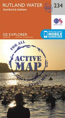 Rutland Water, Stamford and Oakham - OS Explorer Map 234 (Sheet map, folded)