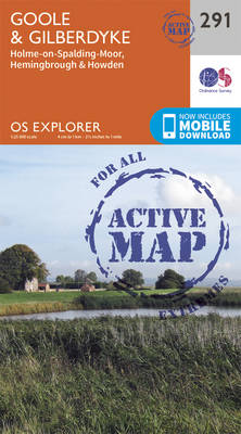 Goole and Gilberdyke - OS Explorer Active Map 291 (Sheet map, folded)