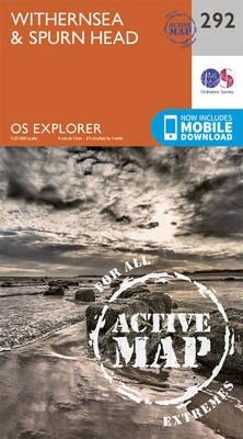 Withernsea and Spurn Head - OS Explorer Active Map 292 (Sheet map, folded)