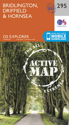 Bridlington, Driffield & Hornsea - OS Explorer Active Map 295 (Sheet map, folded)