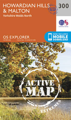 Howardian Hills and Malton - OS Explorer Active Map 300 (Sheet map, folded)