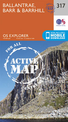 Ballantrae, Barr and Barrhill - OS Explorer Active Map 317 (Sheet map, folded)
