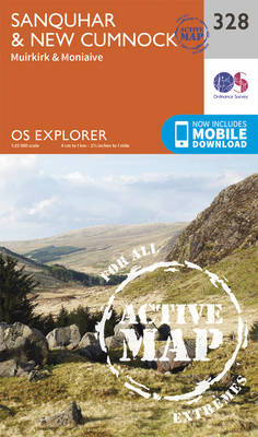 Sanquhar and New Cumnock - OS Explorer Active Map 328 (Sheet map, folded)