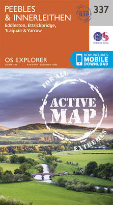 Peebles and Innerleithen - OS Explorer Active Map 337 (Sheet map, folded)