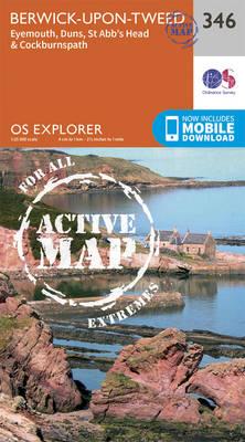 Berwick-Upon-Tweed - OS Explorer Active Map 346 (Sheet map, folded)