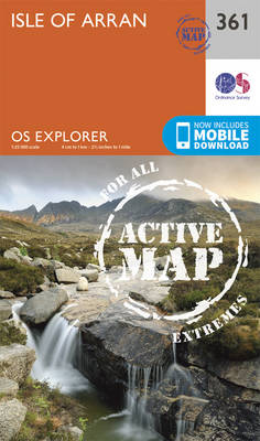Isle of Arran - OS Explorer Active Map 361 (Sheet map, folded)