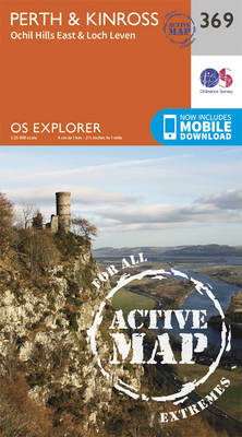 Perth and Kinross - OS Explorer Active Map 369 (Sheet map, folded)