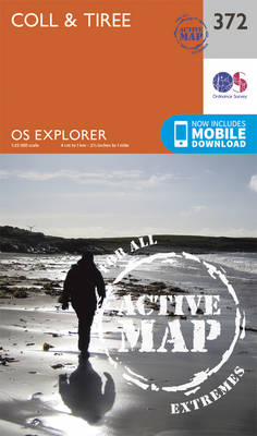 Coll and Tiree - OS Explorer Active Map 372 (Sheet map, folded)