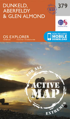 Dunkeld, Aberfeldy and Glen Almond - OS Explorer Active Map 379 (Sheet map, folded)
