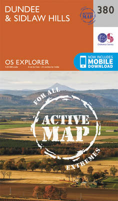 Dundee and Sidlaw Hills - OS Explorer Active Map 380 (Sheet map, folded)