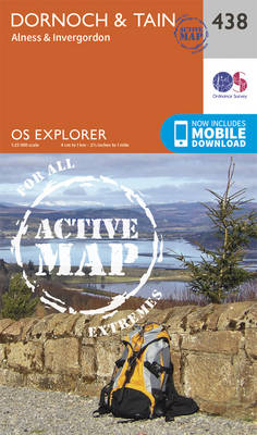 Dornoch and Tain - OS Explorer Active Map 438 (Sheet map, folded)