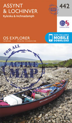 Assynt and Lochinver - OS Explorer Active Map 442 (Sheet map, folded)