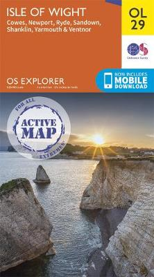 Isle of Wight - OS Explorer OL29 (Sheet map, folded)